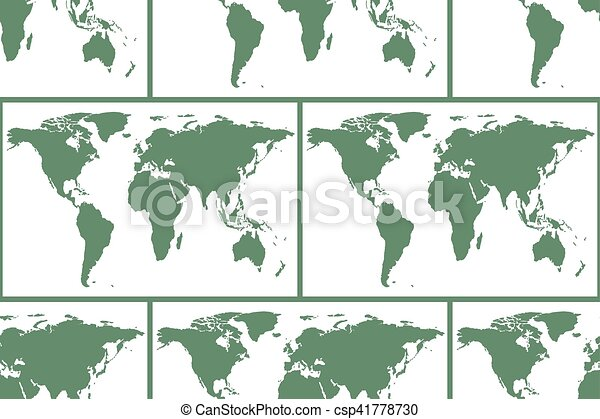 World map pattern seamless pattern of the world map elements of world map pattern csp41778730 gumiabroncs Gallery