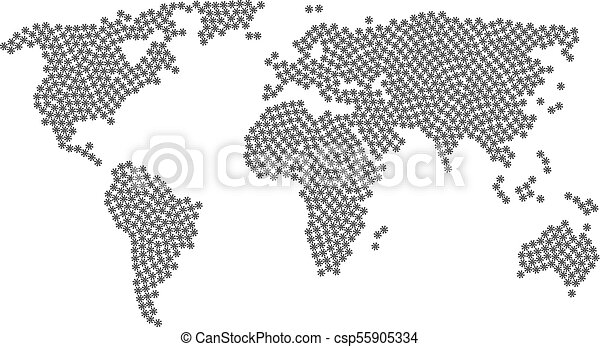 World map pattern of virus items global world map pattern world map pattern of virus items csp55905334 gumiabroncs Gallery