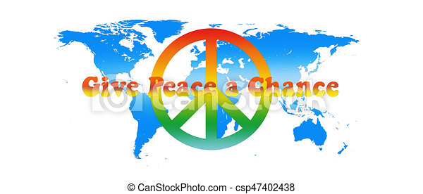 World map peace colors with text isolated on white drawings world map peace colors with text isolated on white background 3d illustration publicscrutiny Image collections