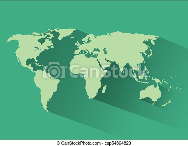 World map silhouette icon vector illustration graphic design world map silhouette csp54894823 gumiabroncs Images