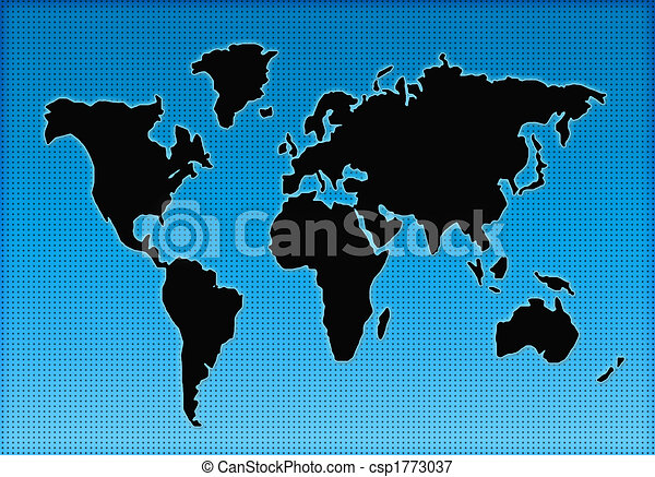 World map silhouette colorful world geographical map silhouette world map silhouette csp1773037 freerunsca Image collections