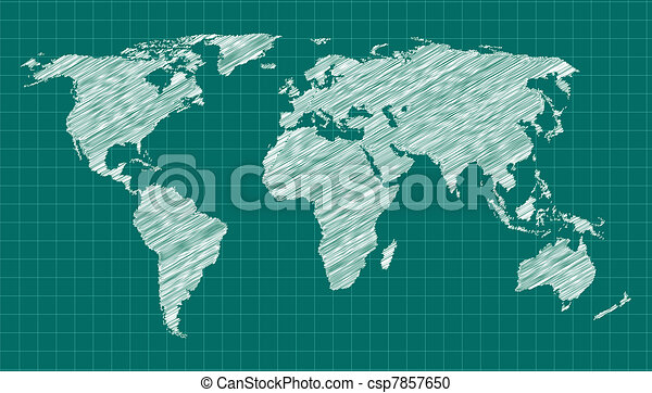 World map sketch scribbled world map on green background fully scribbled world map on green background fully editable eps 10 file map source httplibutexasmapsworldmapsworldrel803005ai2003g layer gumiabroncs Gallery