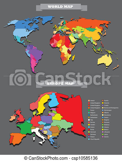 World map template every country is selectable world map template every country is selectable csp10585136 gumiabroncs Gallery