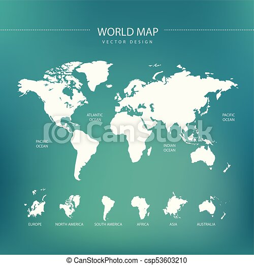 world map travel theme art - csp53603210