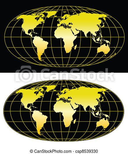 World map   - csp8539330