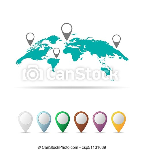 World map vector illustration abstract world map isolated world map vector illustration gumiabroncs Gallery