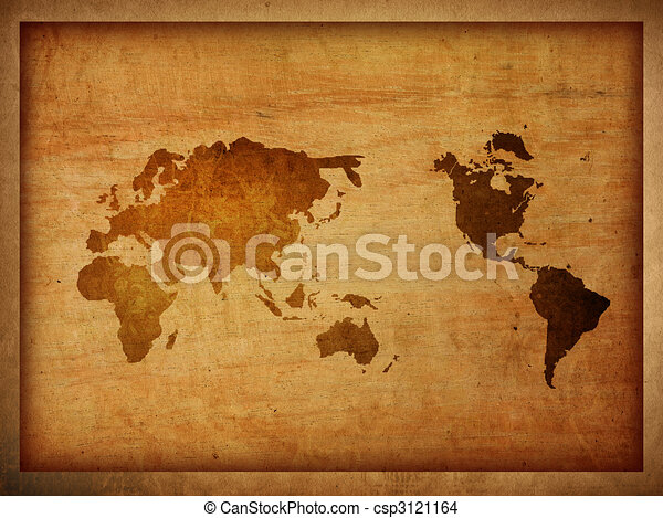 World map vintage artwork drawing search clip art illustrations world map vintage artwork csp3121164 gumiabroncs Choice Image