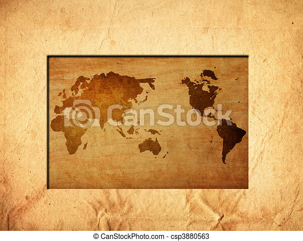 World map vintage artwork perfect background with space for text world map vintage artwork perfect background with space for text or image csp3880563 gumiabroncs Gallery