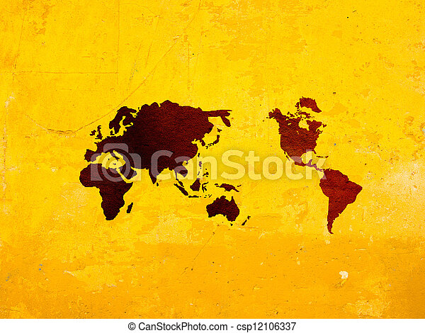 World map vintage artwork perfect background with space world map vintage artwork csp12106337 gumiabroncs Image collections