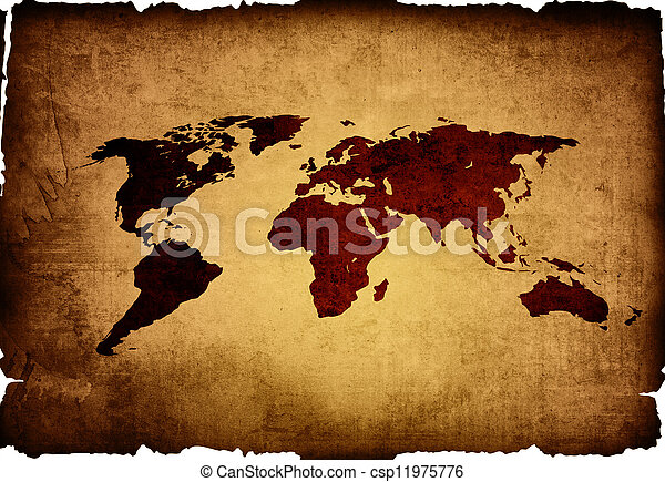 World map vintage artwork perfect background with space picture world map vintage csp11975776 gumiabroncs Gallery