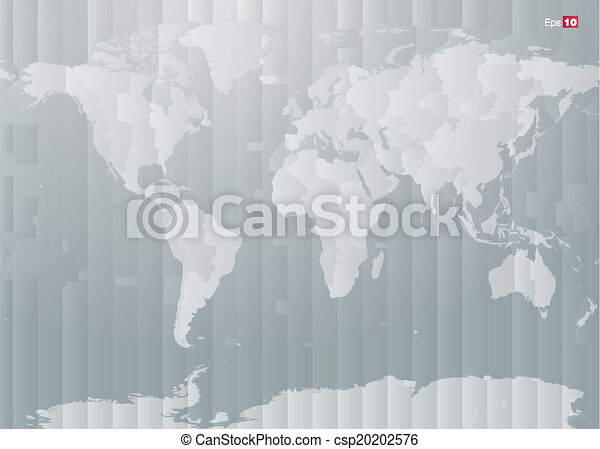 World map with countries and timezones in editable vector vectors world map with countries and timezones csp20202576 gumiabroncs Choice Image