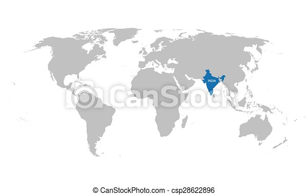 World map with indication of india eps vectors search clip art world map with indication of india csp28622896 gumiabroncs Choice Image