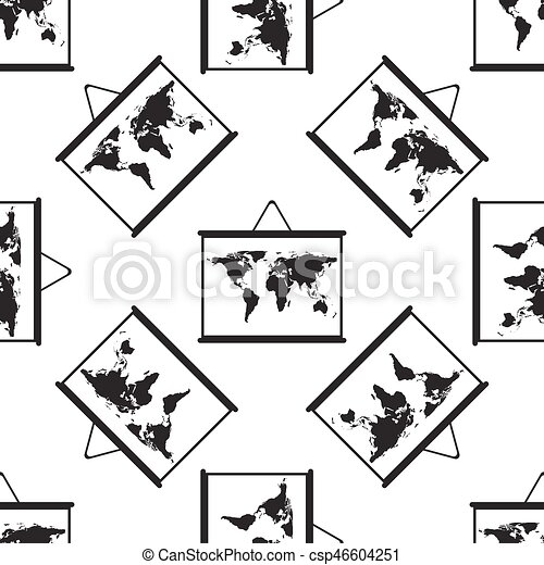 World maps drawing on chalkboard icon seamless pattern on white world maps drawing on chalkboard icon seamless pattern on white background csp46604251 gumiabroncs Gallery