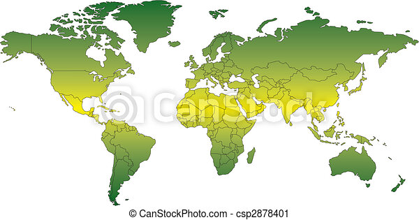 World mercator map with countries world mercator map vector clip world mercator map with countries csp2878401 gumiabroncs Choice Image