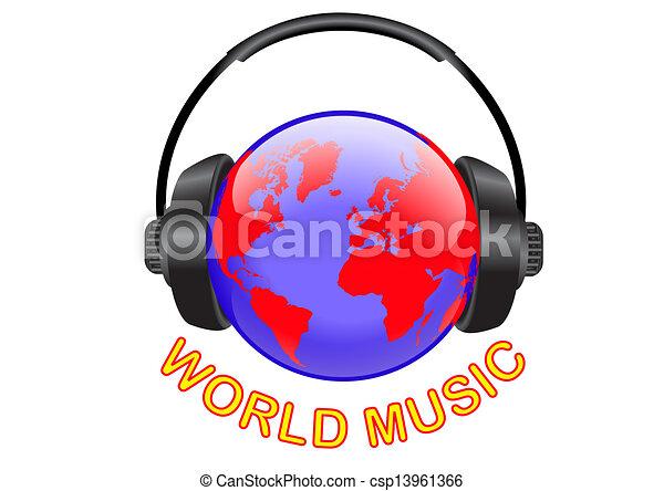 WORLD MUSIC - csp13961366