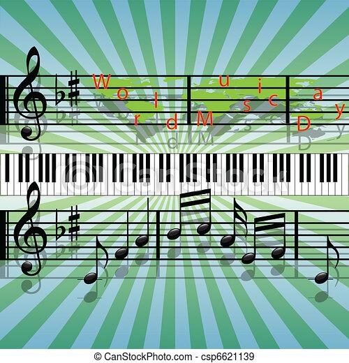 World Music Day - csp6621139