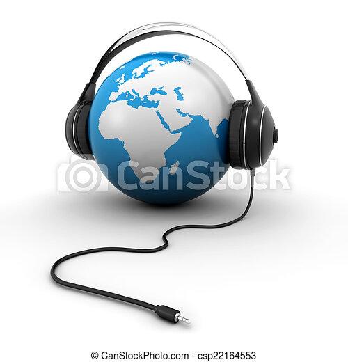 World music - csp22164553