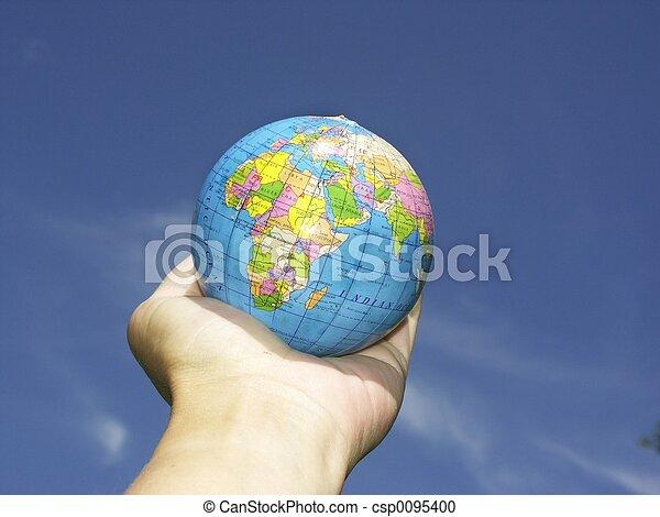 world n hand - csp0095400