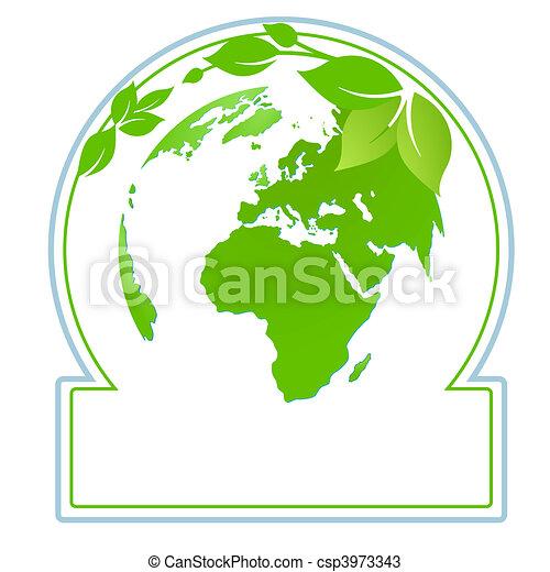 world-nature-label - csp3973343