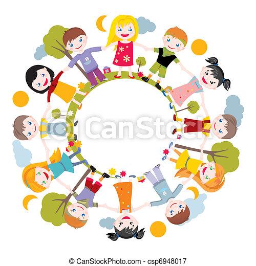 world of childhood  - csp6948017