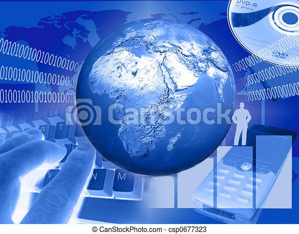 world of communication - csp0677323