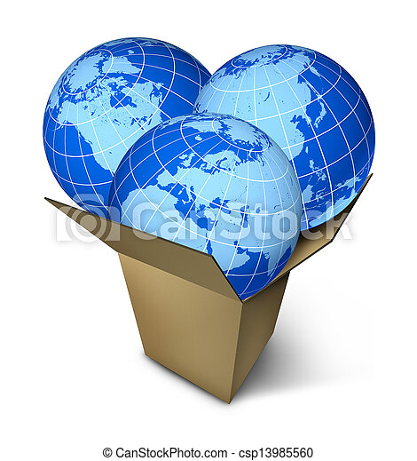 World Parcel Shipping - csp13985560