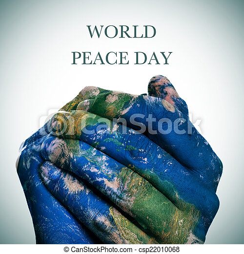 World peace day earth map furnished by nasa the sentence world peace day earth map furnished by nasa stock photo gumiabroncs Images