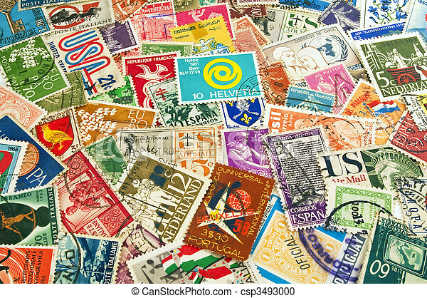 world post stamps assorted postage stamps from different countries