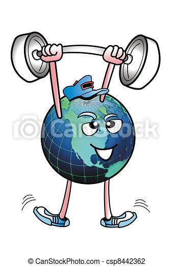 World Strength. - csp8442362