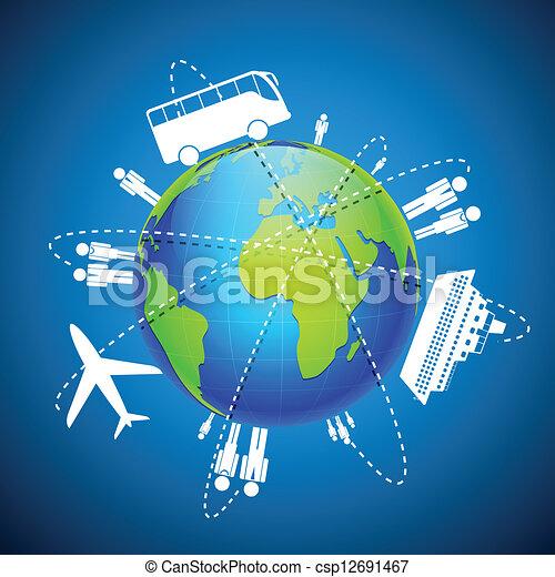 World Transport - csp12691467