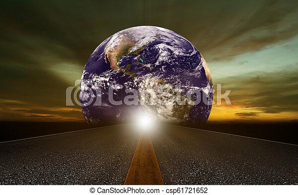 World Trends Concept Background - csp61721652