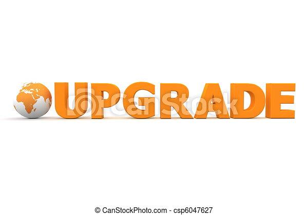 World Upgrade Orange - csp6047627