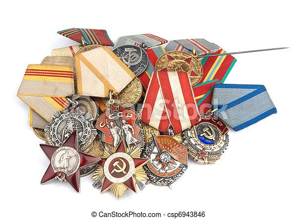 World War Ii Russian Medals