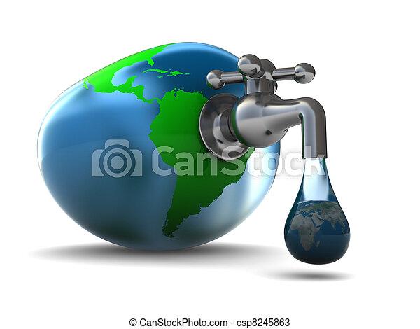 world water - csp8245863