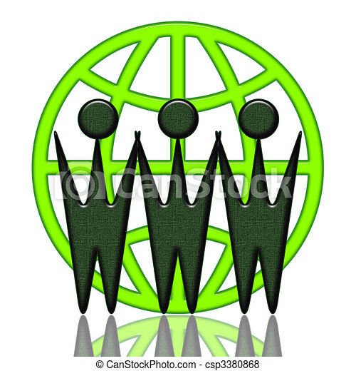 World Wide Cooperation - csp3380868