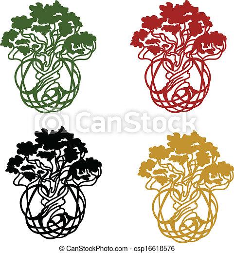 world/life, arbre - csp16618576