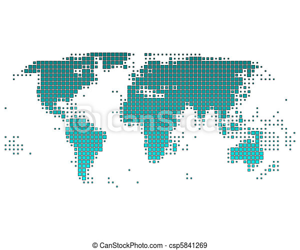 worldmap - csp5841269