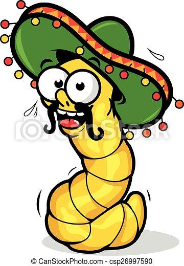 imágenes de gusanos caricaturas
