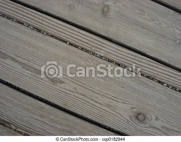 e005583c0f7c Worn wood. Worn wood from playground equipment. heavily used.
