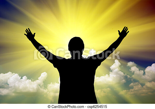 Worship to God - csp6254515