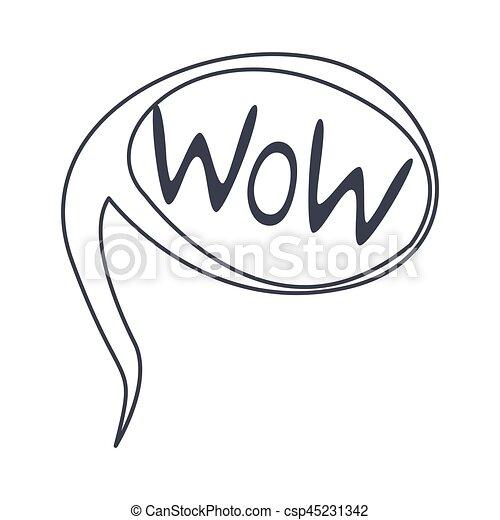 Wort, clipart, gegenstand, freigestellt, hand, hui, schwarz,... EPS ...