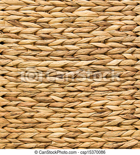 Woven Flax Texture - csp15370086