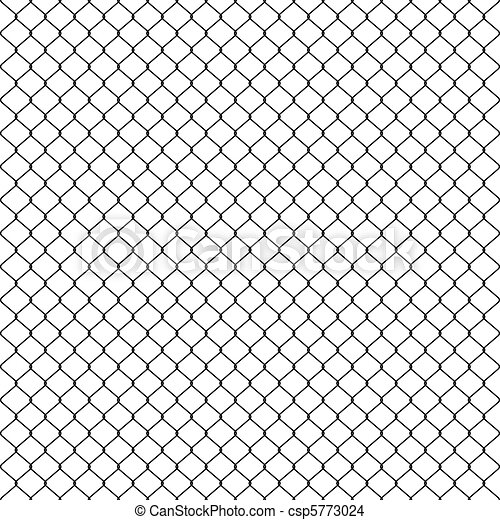 Woven wire fence black - csp5773024