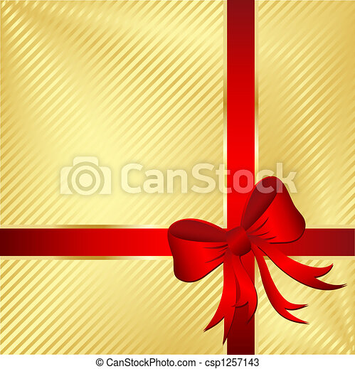 Wrapped gift - csp1257143