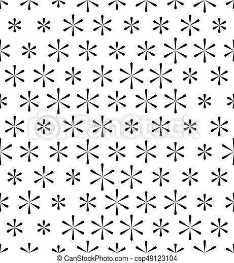 seamless snowflakes pattern abstract star background wrapping