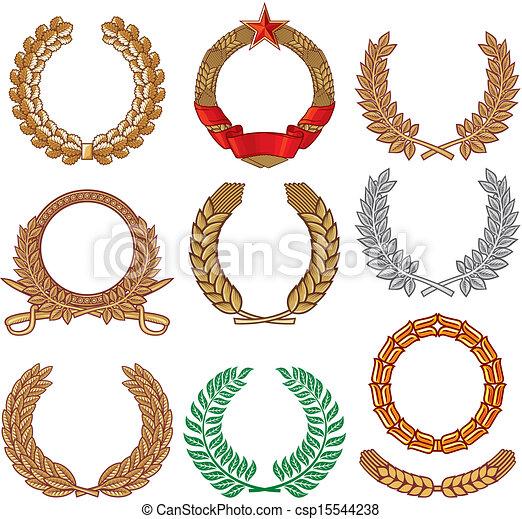 Wreath set - csp15544238