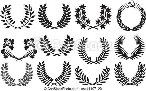 Wreath set - csp11107120