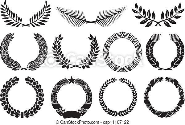 Wreath set  - csp11107122