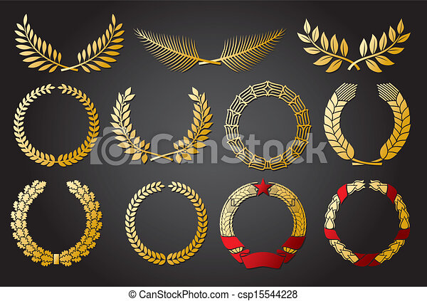 Wreath set - csp15544228
