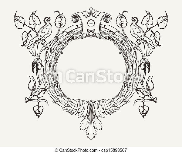 Wreath With A Dove - csp15893567